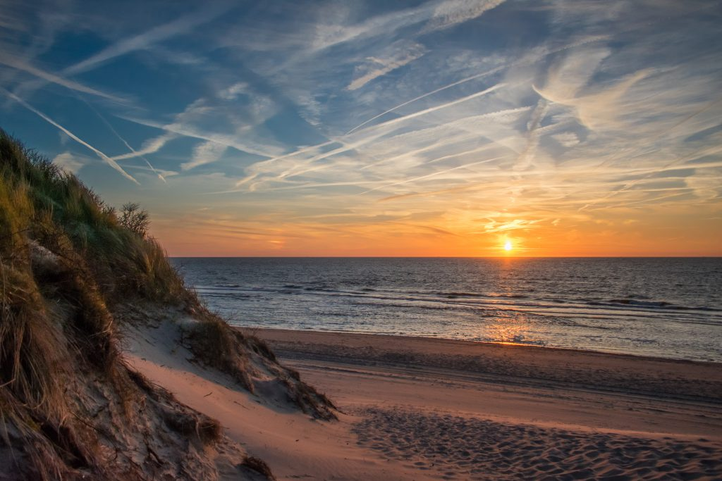 nachtje weg aan de kust Nederland